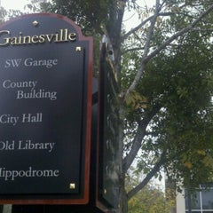 Photo taken at City of Gainesville by Ricardo B. on 11/21/2012