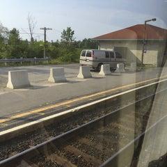 Photo taken at VIA Rail Kingston by Louis M. on 8/18/2015