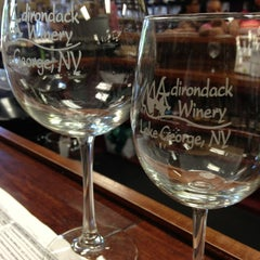 Photo taken at Adirondack Winery Tasting Room by Amy on 8/3/2013