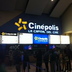 Photo taken at Cinépolis by Axel S. on 12/4/2012