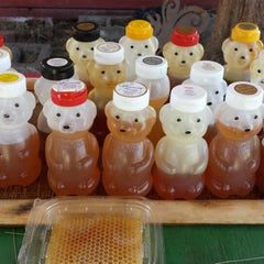 Photo taken at Marshall's Honey Farm by Thomas M. on 7/11/2013