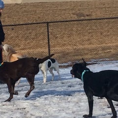 Photo taken at Windsor Heights Dog Park by Lindsay A. on 2/22/2014