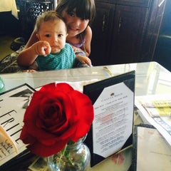 Photo taken at La Frite Cafe by Maggie on 4/19/2015