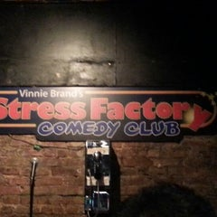 Photo taken at Stress Factory Comedy Club by Lou P. on 1/3/2013