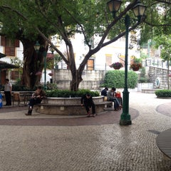 Photo taken at Largo do Lilau / Lilau Square 亞婆井前地 by Carla V. on 2/21/2015