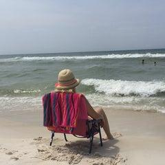 Photo taken at Panama City Beach, FL by Aylin Erdoğan on 8/8/2015