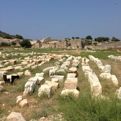 Photo taken at Patara Örenyeri by İrfan D. on 7/17/2013