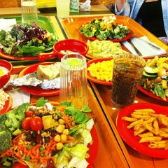 Photo taken at Souplantation by Anna N. on 7/15/2013