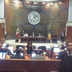 Photo taken at Poder Legislativo del Estado de Jalisco by Diana M. on 10/28/2014