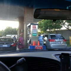 Photo taken at Costco Gas by Clara K. on 5/11/2013