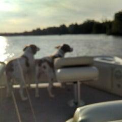 Photo taken at Lake James by Bryan W. on 8/15/2014