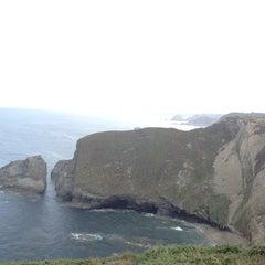 Photo taken at Faro de Cabo Vidio by Jana V. on 9/19/2014