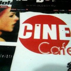 Photo taken at Cafe Cine by Malik E. on 2/7/2013
