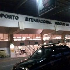 Photo taken at Aeroporto Internacional de Florianópolis / Hercílio Luz (FLN) by Clarice M. on 3/23/2013