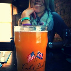 Photo taken at Cock & Bull Public House Glendale Village by Greg I. on 5/22/2015