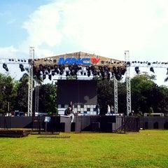 Photo taken at Lap. Brigif Linud 17 Cijantung by debora a. on 8/16/2013
