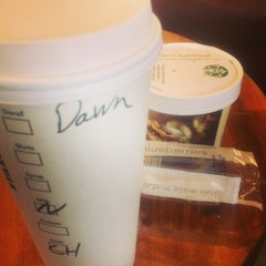 Photo taken at Starbucks by Dawn on 3/14/2013