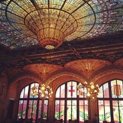 Foto tomada en Palau de la Música Catalana por Anya el 5/6/2013