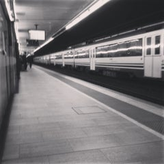 Photo taken at RENFE Passeig de Gràcia by minijay on 12/17/2012