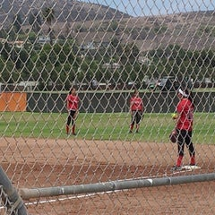 Photo taken at Tri Valley Softball Fields by Lisa G. on 7/25/2013