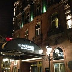 Das Foto wurde bei Le Méridien Parkhotel Frankfurt von Marc L. am 1/12/2013 aufgenommen