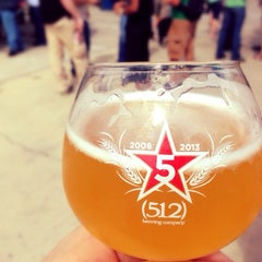 Photo taken at (512) Brewing Company by Geoffrey on 10/26/2013