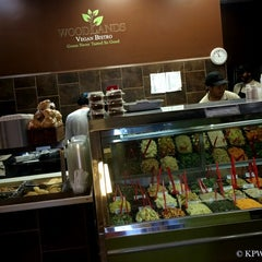 Photo taken at Woodlands Vegan Bistro by Ken W. on 7/20/2014