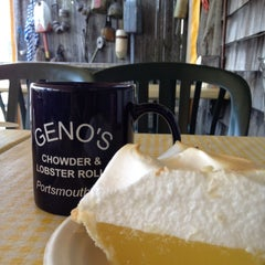 Photo taken at Geno's Chowder and Sandwich Shop by Patricia E. on 9/22/2012