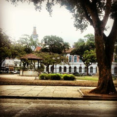 Photo taken at Praça da Harmonia by Arthur L. on 9/27/2012