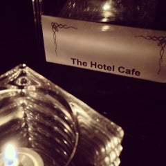 Photo taken at Hotel Cafe by Cesar S. on 4/8/2013