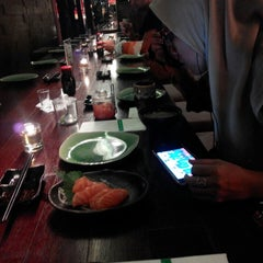 Photo taken at SushiGroove by Andi P. on 4/18/2015