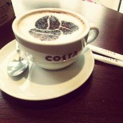 Photo taken at Costa Coffee by Aleksandra L. on 9/24/2012