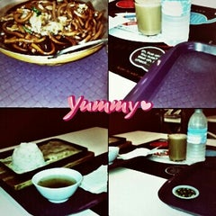 Photo taken at Food Court Kepong Village Mall by Sunny M. on 4/30/2013