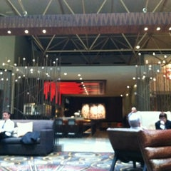 Photo taken at Renaissance Washington, DC Downtown Hotel by Regina on 12/7/2012