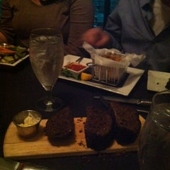 Photo taken at MetroPrime Steakhouse by Sabrina on 3/4/2014