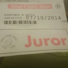 Photo taken at Kings County Supreme Court by Kareemah B. on 7/10/2014