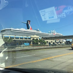 Photo taken at Galveston Cruise Terminal #2 by Bengala M. on 4/7/2015