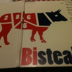 Photo taken at Bisteak by Federica on 10/22/2012