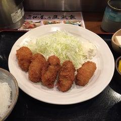 Photo taken at 四季食楽 三地屋 カレッタ汐留店 by とめ on 12/24/2014
