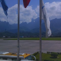 Photo taken at Zhangjiajie Hehua Airport (DYG) 张家界荷花机场 by Михаил Ф. on 9/20/2014
