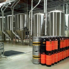 Photo taken at The Phoenix Ale Brewery by Kira V. on 1/19/2013