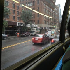 Photo taken at MTA Bus - 7 Av & W 57 St (M/31M57/X12/X14/X30/X42) by Chuck A. on 9/27/2012