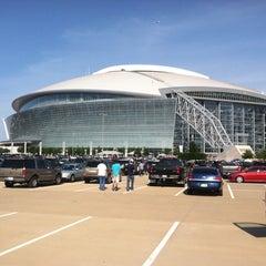 Photo taken at AT&T Stadium by Lavoska B. on 7/24/2013