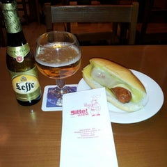 Photo taken at Otto Sylt - Bitte Wurst by Luigi B. on 12/12/2012