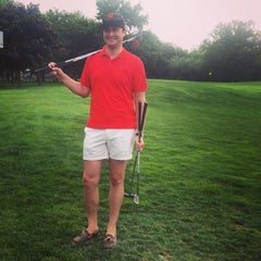 Photo taken at Flushing Meadows Pitch & Putt by Lindsay K. on 8/2/2014
