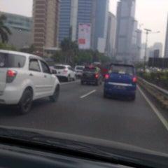 Photo taken at Jalan Tol Dalam Kota by S u t j i p t o on 8/19/2015