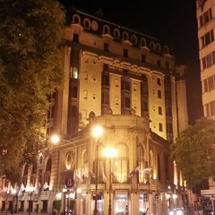 Photo taken at Plaza Hotel Buenos Aires by Caio Cesar P. on 2/14/2013