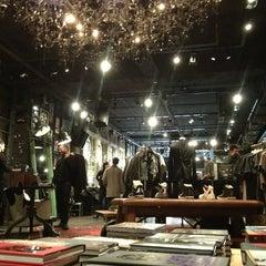 Photo taken at John Varvatos Bowery NYC by Bastian B. on 1/19/2013