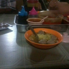 Photo taken at Bakso Awang Long by Aldinata F. on 10/3/2012