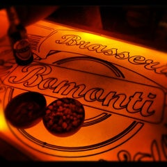 Photo taken at KafePi Asmalımescit Bomonti Brasserie by Bahar Y. on 9/25/2012